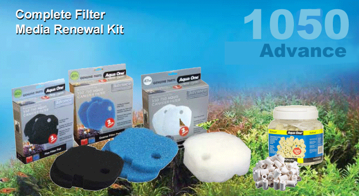 Advance 1050 Complete Filter Media Kit