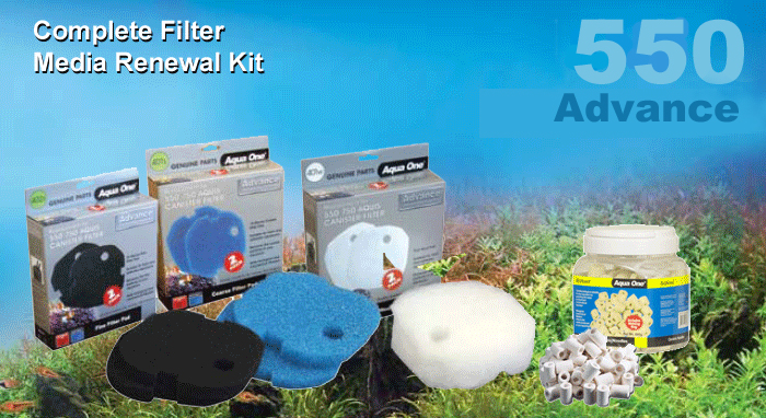 Advance 550 Complete Filter Media Kit