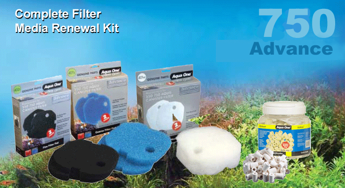 Advance 750 Complete Filter Media Kit