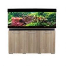 Aqua One AquaVogue 245 Aquarium & Cabinet Nash Oak with Black NO FILTER