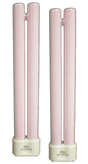 PL18W Aqua One Tropical (14K) fluorescent Tube  - TWINPACK ** 4 Pin Fitting **