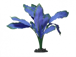 Aqua One Osiris Sword Blue Silk Plant - (20cm )
