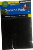 Aqua One (104s) Black Foam Sponge for EcoStyle 32 & EcoStyle 37