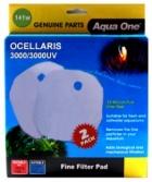 Aqua One Wool Pad Twinpack for Ocellaris 3000 / 3000UV - (141w)