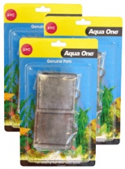 Aqua One (69c) Carbon and Wool Cartridge *** TRIPLE PACK ***