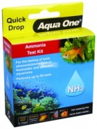 Aqua One Quick Drop Test Kit - Ammonia