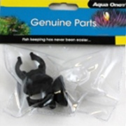 Aqua One Aquarium Heater Sucker Clips - (Pack of 2)