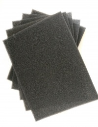 Aqua One 'Self Cut' Sponge Bulk Deal 5 Pack (39x28x2cm)