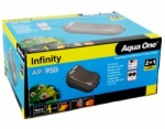 Aqua One Infinity AP-950 Twin Outlet Air Pump - 2 x 280 l/h
