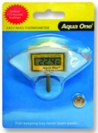 Aqua One Easy Read LCD Thermometer for Inside Tank