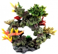 Aqua One Aquarium Decor - Marine Coral Reef Archway (38cm)