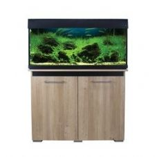 Aqua One AquaVogue 170 Aquarium & Cabinet Nash Oak with Black NO FILTER
