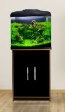 Aqua One AquaVue 580 Aquarium & Cabinet Black
