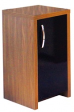 Aqua One Inspire 30 Cabinet - Walnut / Black Door