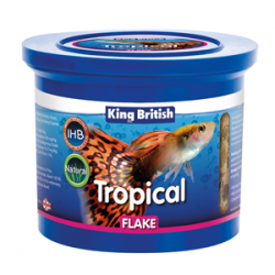 King British Tropical Flake Food 200g