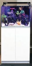 Aqua One MiniReef 120 Aquarium & Cabinet White