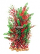Aqua One Vibrance - Red Pontederia/Typha with Gravel Base XL 40cm