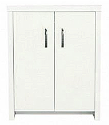 Inspire 60 Cabinet - White Cabinet with White Gloss Door from Aqua One