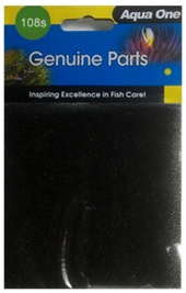 Aqua One (108s) Black Foam Sponge for EcoStyle 81 aquarium