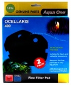 Aqua One Black Sponge Pad for Ocellaris 400 -  (143s)