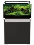 Aqua One Horizon 130 Aquarium & Cabinet Moon Grey and Black PRE ORDER MID JAN