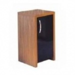 Aqua One Inspire 30 Cabinet Walnut with Black Gloss Door