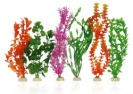 Aqua One 6 Pack Plastic Plant Selection 6 Pack XL 40cm 24240