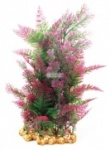 Aqua One Vibrance - Purple Mix Fern with Gravel Base XL 40cm