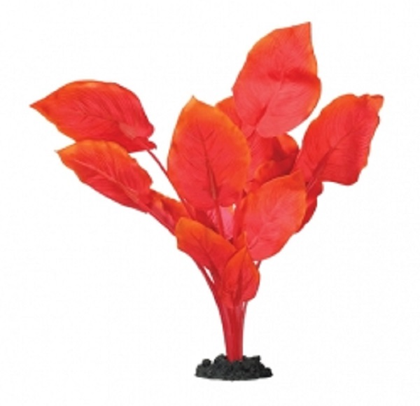Aqua One Anubias Red Silk Plant - (40cm )